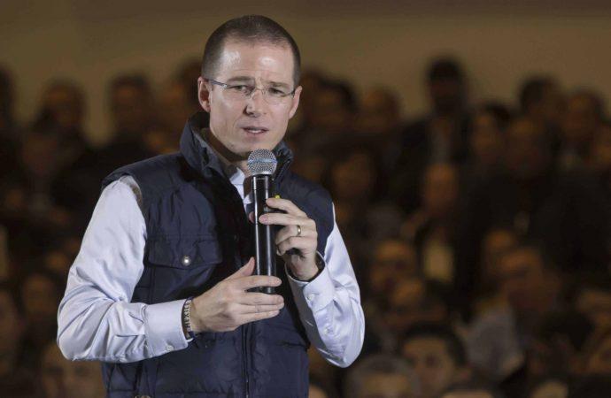 Al amenazar y acusar a Peña Nieto, Anaya busca impunidad