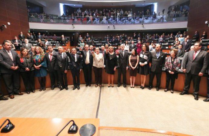 Ratifica el Pleno del Senado nombramientos de embajadores para África, Caribe y Europa