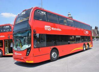 Autobuses de Metrobús L7, de última tecnología ambiental