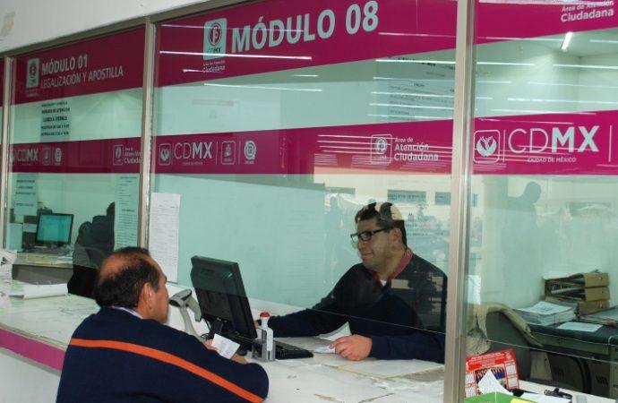 Condona GCDMX pago en trámites notariales a afectados por 19s