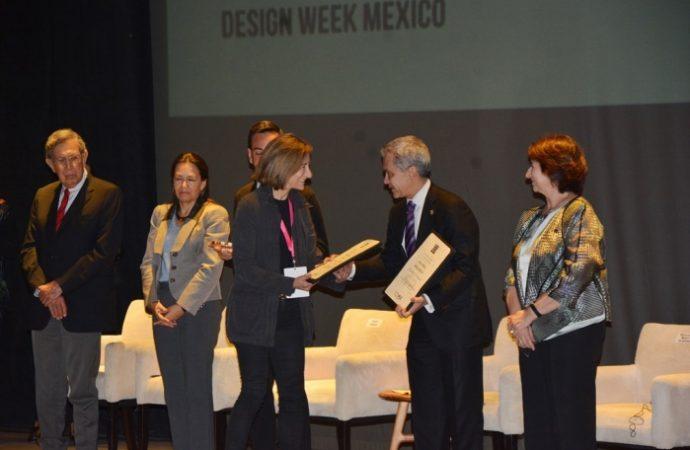 Distinguen a CDMX como Capital Mundial del Diseño 2018