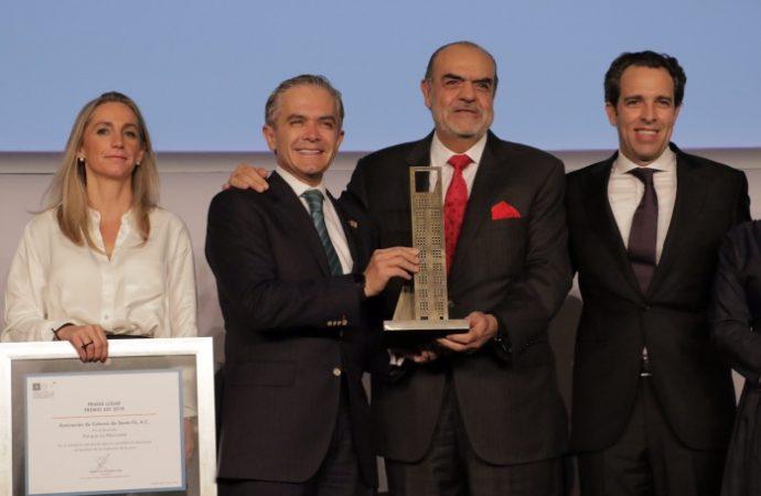 Recibe parque La Mexicana galardón por mejor proyecto de desarrollo urbano