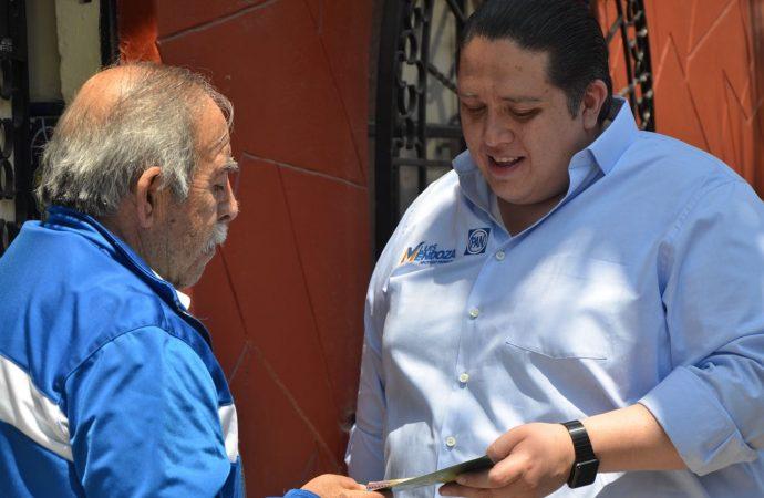 Quiero ser un diputado sin fuero ni privilegios: Luis Mendoza, candidato Diputado Federal por Benito Juárez