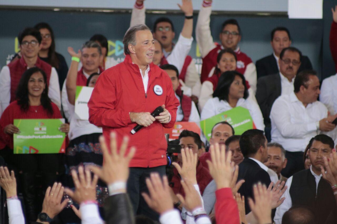 El PRI se la jugará a muerte para defender al México en el que creemos: Meade