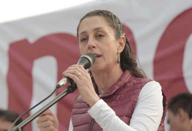 Pide Sheinbaum a trabajadores del gobierno capitalino votar en libertad