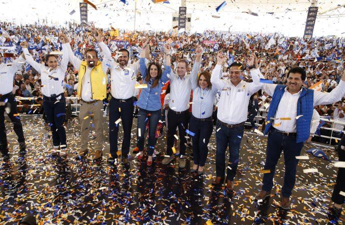 Vamos a trabajar fuerte por la prosperidad de Durango: Ricardo Anaya