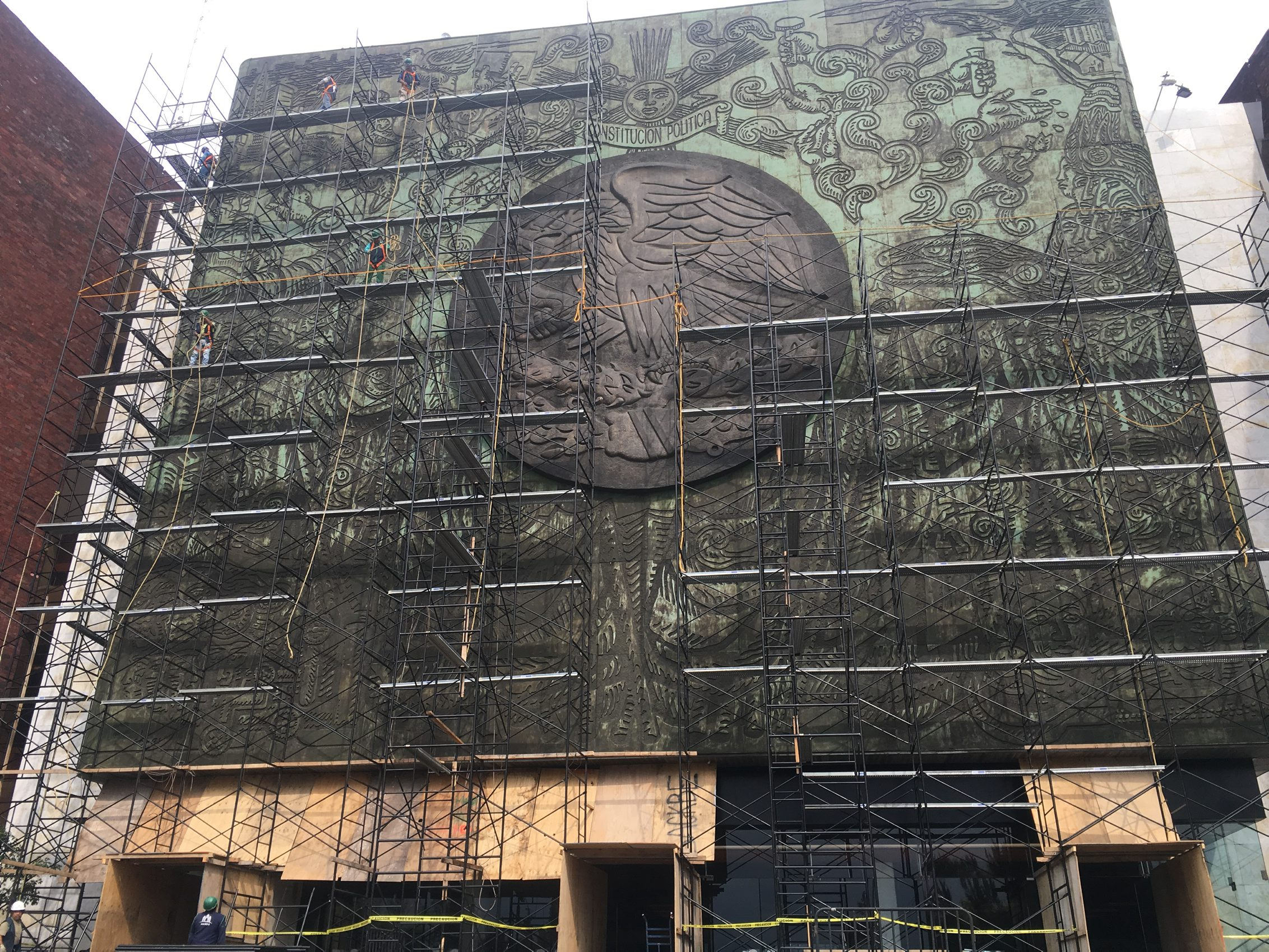 """Se inaugura en San Lázaro la exposición pictórica """"El Jaguar"""""""