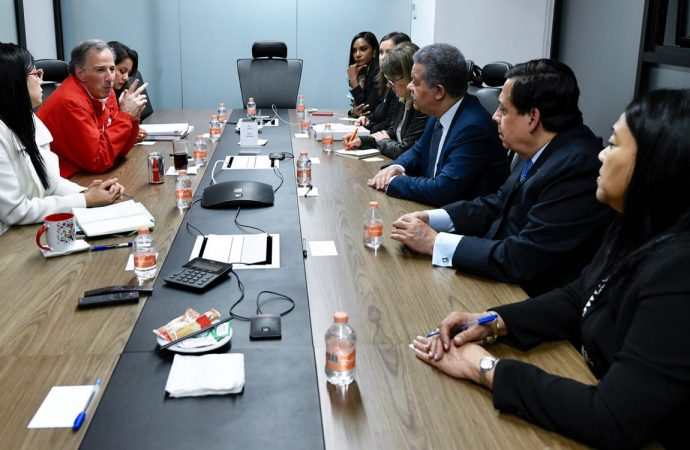 José Antonio Meade se reunió con observador electoral de la OEA