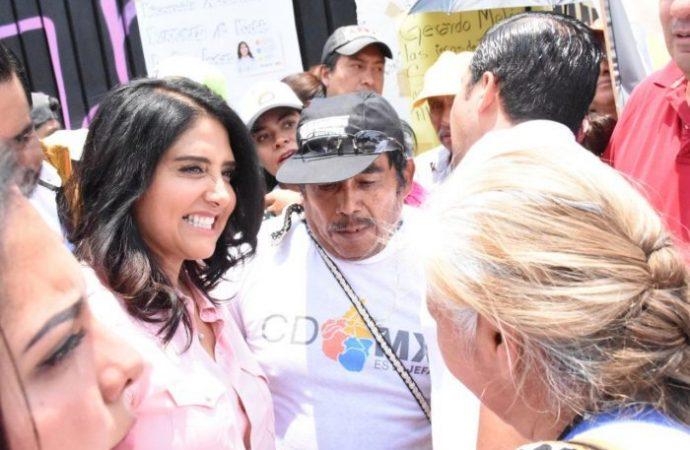 Combate a la delincuencia e impulso al campo en Xochimilco: Barrales