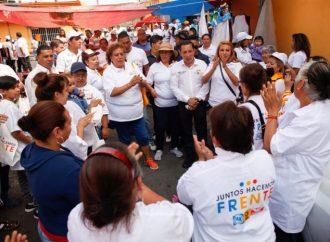 Amílcar Ganado, candidato por el frente PRD, PAN y MC a la alcaldía de Álvaro Obregón, mejorará la movilidad de los obregonenses