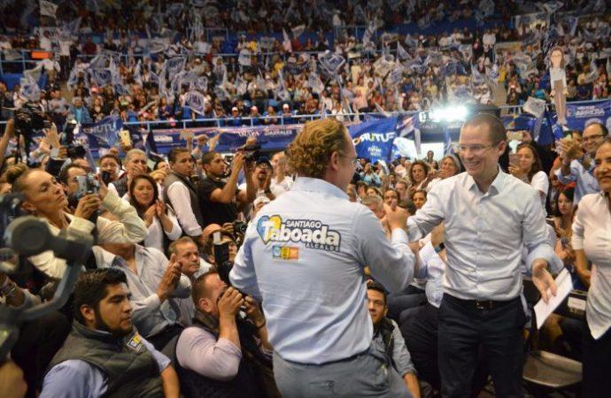 Anaya nos ayudará para mayor seguridad en Benito Juárez: Taboada