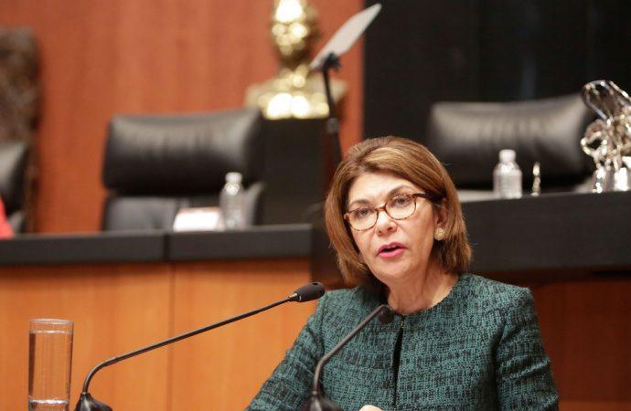 Pide Angélica de la Peña reconocer jurisdicción de la Corte Penal Internacional