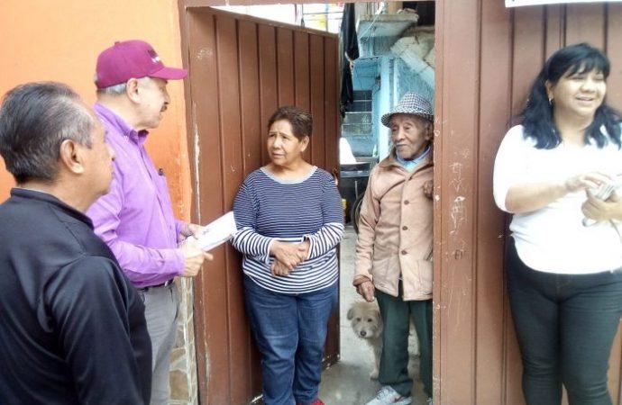 """""""Nos vamos a involucrar a fondo para proteger de la delincuencia a nuestras familias en Iztacalco"""": Quintero"""