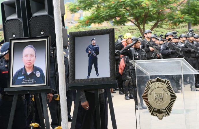 José Ramón Amieva anuncia fondo de 3 mdp para policías caídos