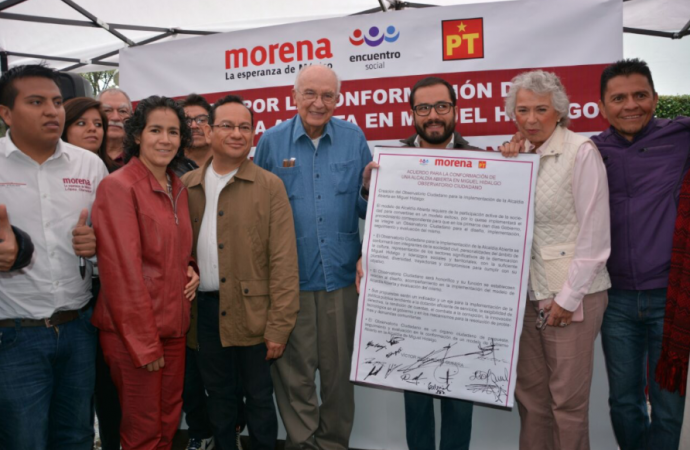 Vigilará Observatorio Ciudadano Gobierno de Miguel Hidalgo: Romo