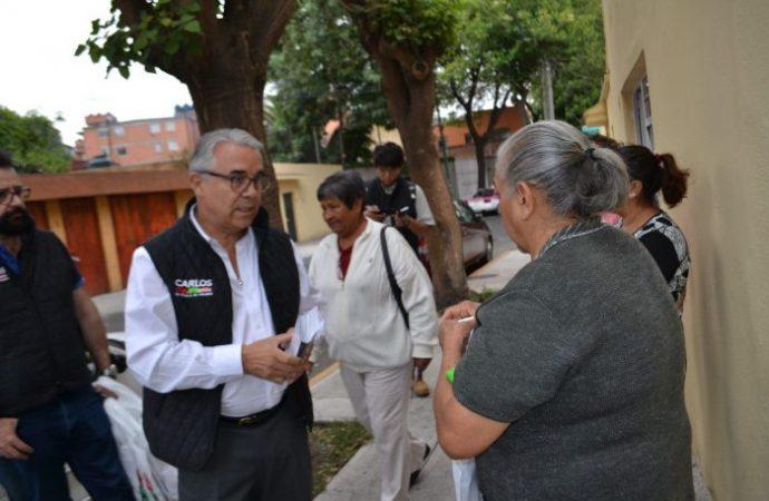 Son los vendedores ambulantes los que financian las campañas del PAN en Benito Juárez.