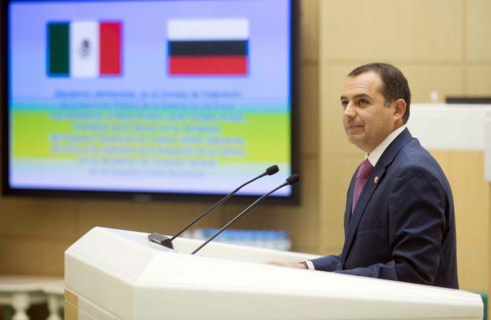 Cordero destaca que relaciones entre México y Rusia viven un muy buen momento