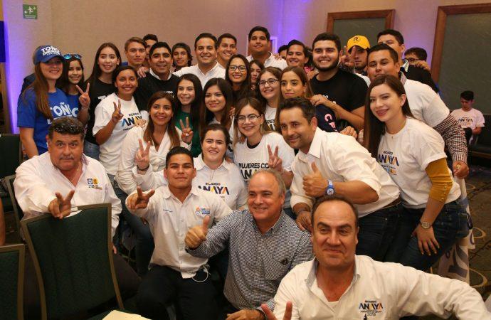 Damián Zepeda llama a sumar esfuerzos en torno a Ricardo Anaya
