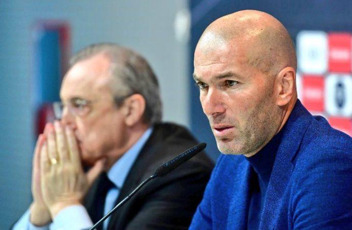 Zinedine Zidane deja de ser entrenador del Real Madrid