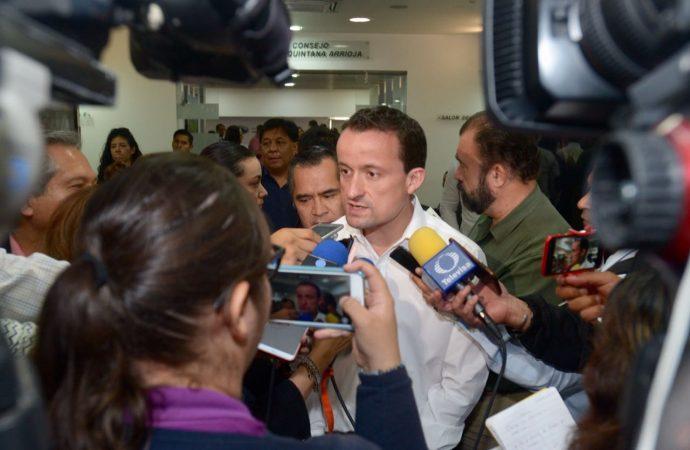 Mikel llama a dirigencias del PRD y PAN a pensar en voto útil