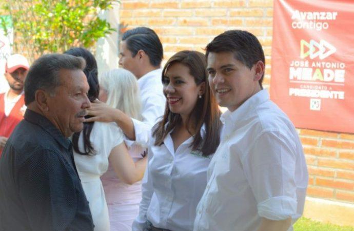 """""""El PRI compite y ganará con los mejores perfiles el 1 de julio"""": Eva María Pimentel"""