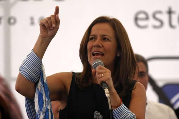 Margarita Zavala pide a los candidatos hacer su tarea para pedir el voto