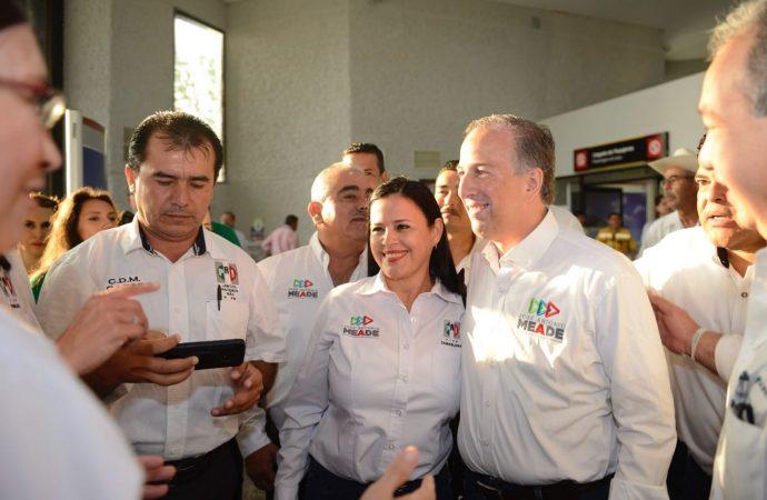 Basta de inseguridad, demanda Meade en Tampico