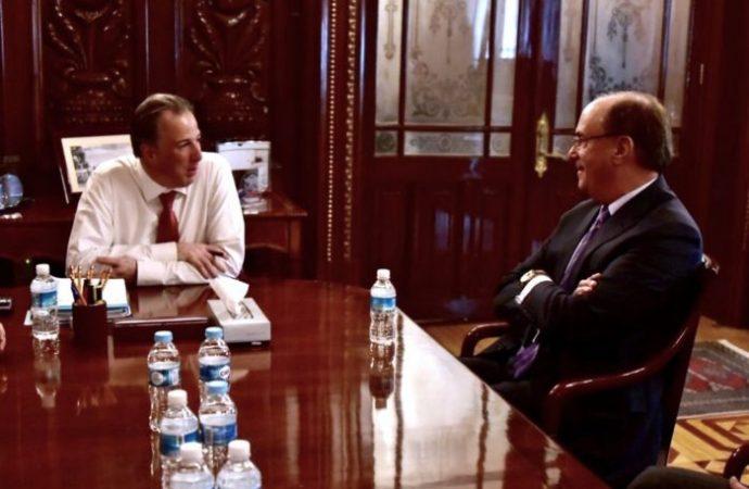 José Antonio Meade se reúne con Larry Fink, presidente de BlackRock