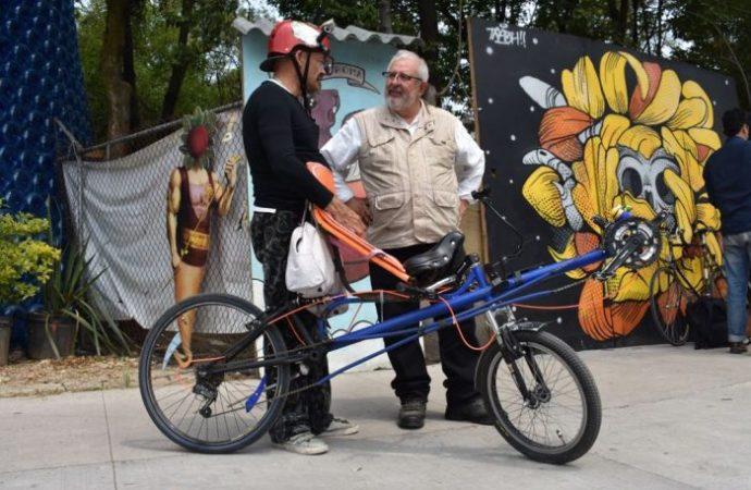 Combate al uso indiscriminado del auto en CDMX: Marco Rascón