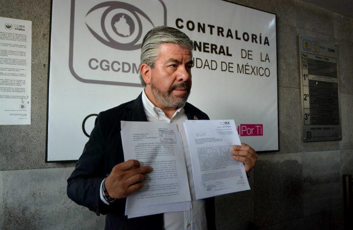 Pide Raúl Flores auditar recursos de parquímetros