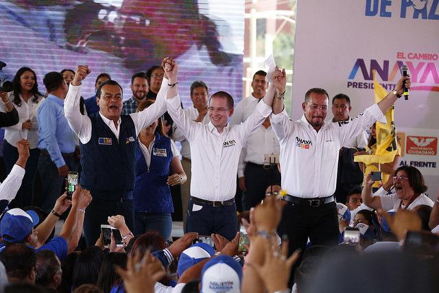 México tendrá un cambio inteligente y volverá a haber paz, afirma Ricardo Anaya en Coacalco