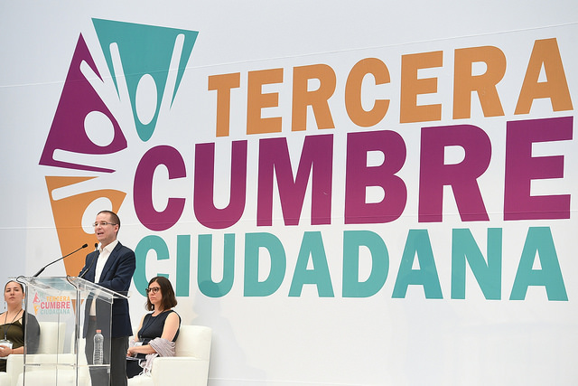 Afirma Ricardo Anaya que no polemizará con el expresidente Felipe Calderón Hinojosa