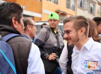 Santiago Torreblanca, candidato por el frente solicitó al electorado razonar su voto para evitar que el crimen organizado  penetre en las estructuras del gobierno