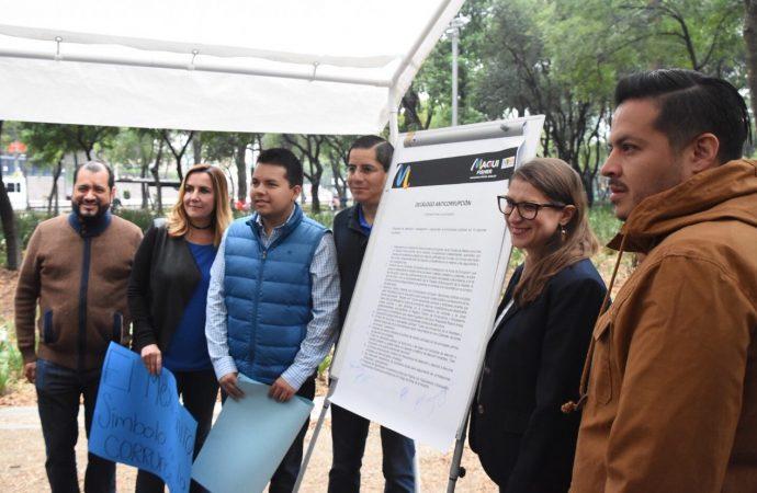 Cero tolerancia a la corrupción en Miguel Hidalgo: Magui Fisher