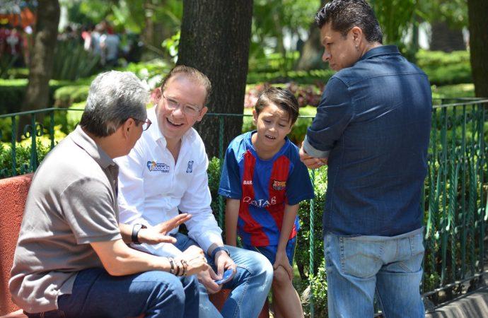 Propone Santiago Taboada modelo de comandancias de policía para Benito Juárez