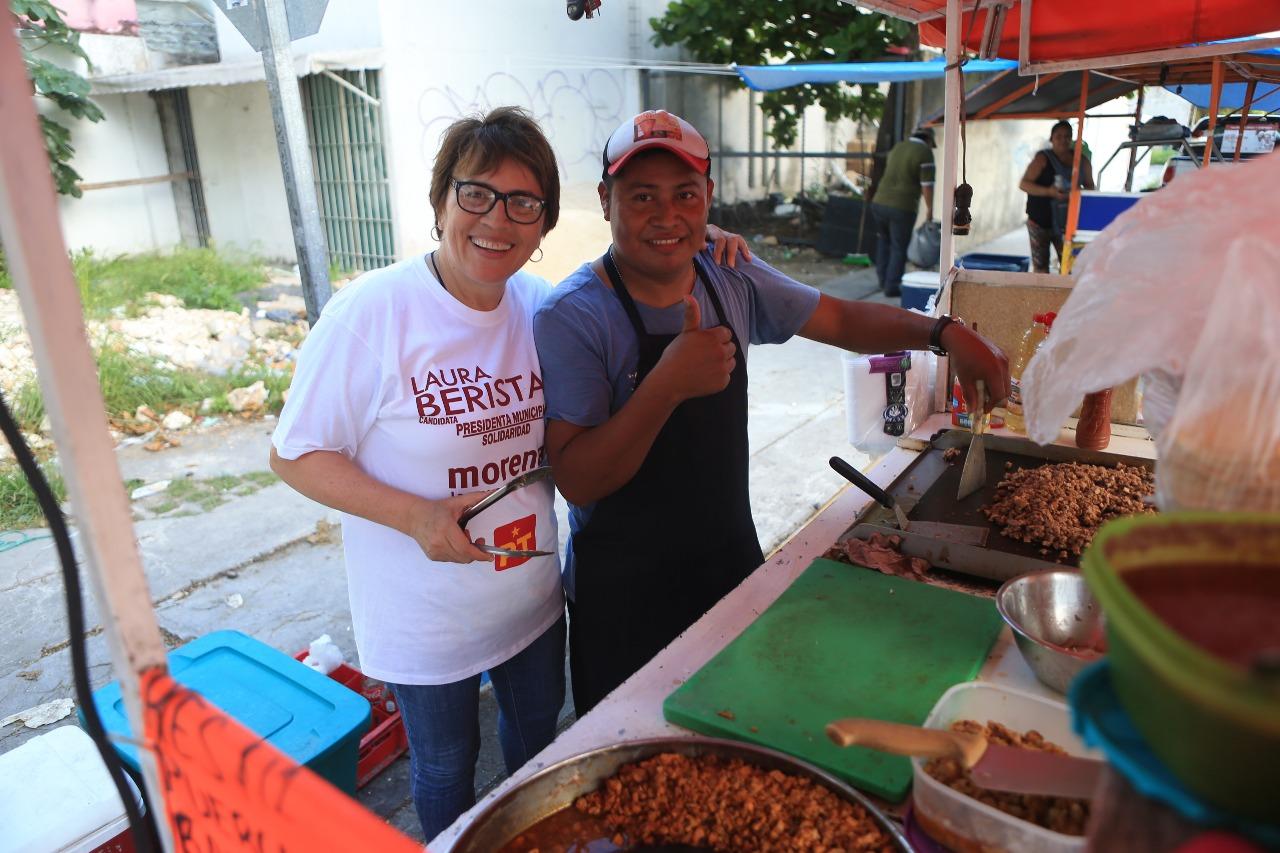 Laura Beristain y Morena siguen sumando ciudadanos que busca la transformación de Solidaridad