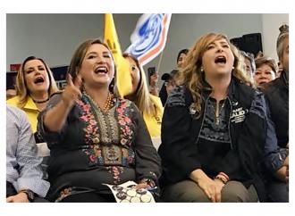 Gaby Salido y Xóchitl Gálvez le ganan el 'aplausómetro' a Magui Fisher