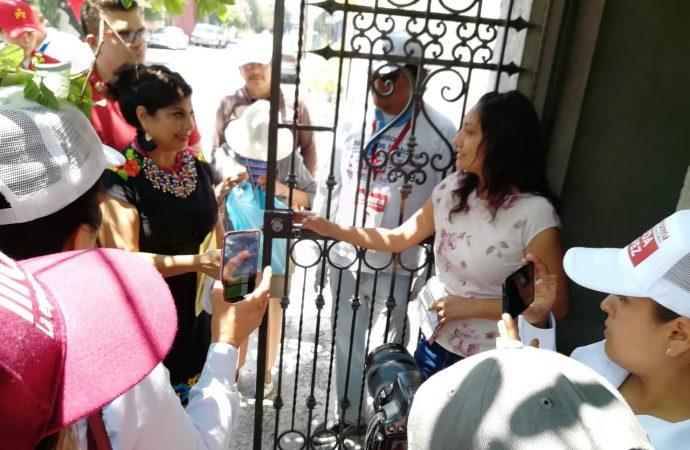 Exige Clara Brugada atender desabasto de agua en Santa Cruz Meyehualco y condonar el pago del vital líquido