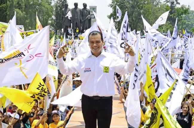 Salario mínimo alcanzará los 171 pesos, promete Juan Zepeda