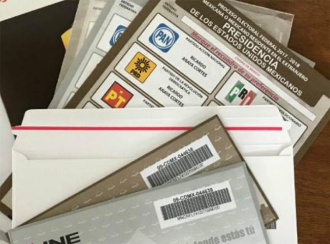 Avanza envío de paquetes electorales para voto en el extranjero: INE