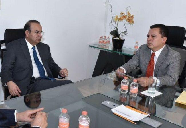Retoma Navarrete Prida diálogo con los partidos políticos