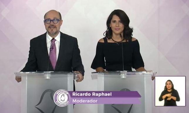 Debaten por segunda vez candidatos al gobierno capitalino