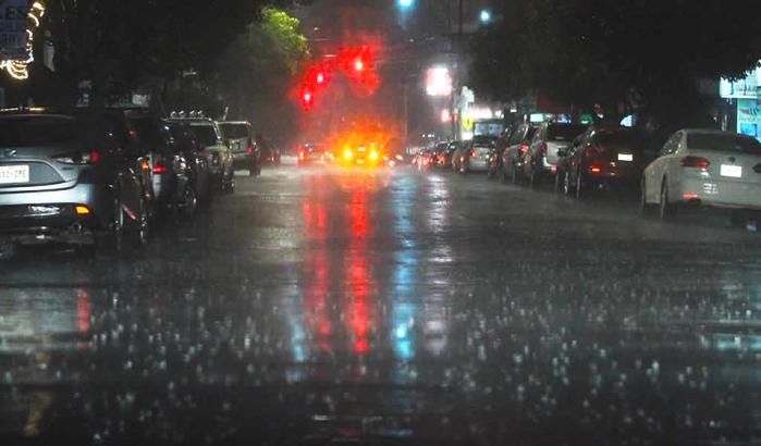 Pronóstico de lluvias fuertes y caída de granizo en CDMX