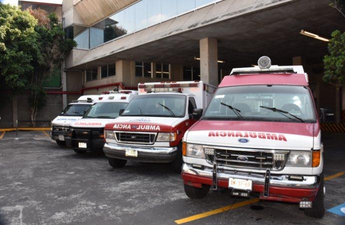 Retiran ambulancias y pipas con Gas LP irregulares