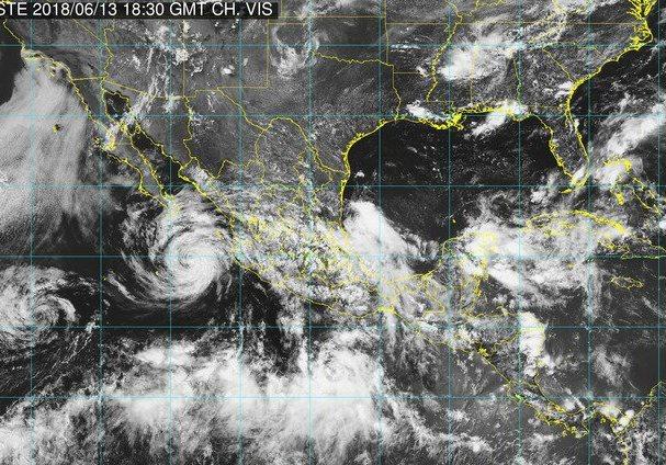 Bud tocará tierra en BCS este viernes como tormenta tropical
