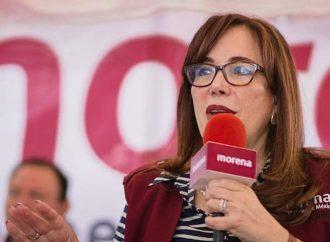 Confía Yeidckol Polevnsky en que López Obrador volverá a ganar el debate