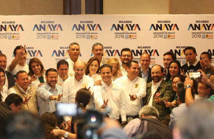 La coalición está más fuerte que nunca; vamos a ganar y a defender nuestro triunfo: Por México al Frente