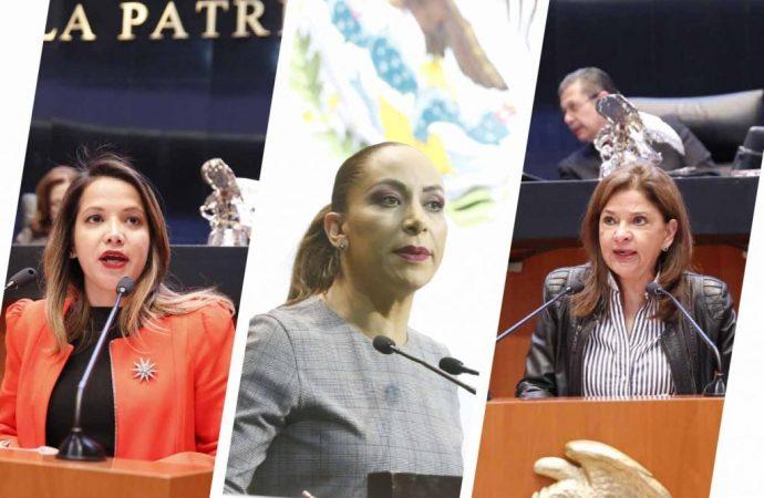 Exigen senadoras del PAN a PGR no obstruir investigaciones y procesos en contra del exgobernador Eugenio Hernández