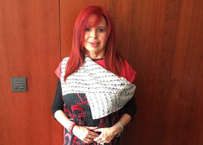 Layda Sansores carga al pueblo compra de ropa de marca