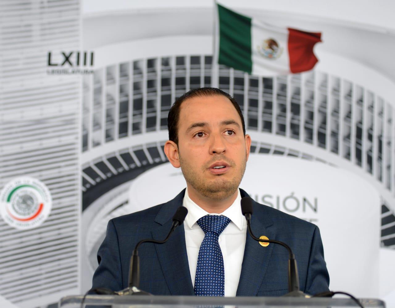 Ricardo Anaya garantiza paz y tranquilidad con un proyecto de nación realizable: Marko Cortés